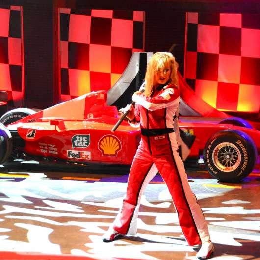 OddPost LA GARA Ferrari World